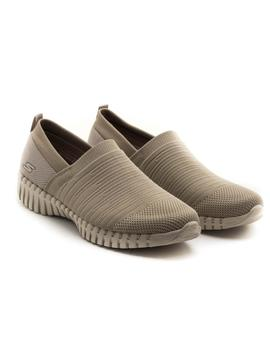 Zapatillas Skechers Wise Taupe para Mujer