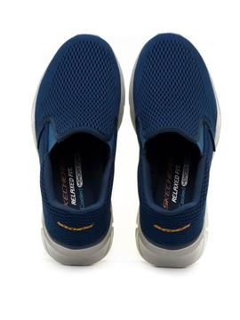 Mocasines Skechers Relaxed Fit Azules para Hombre