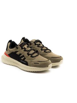 Deportivos Skechers 232011TPBK Taupe para Hombre