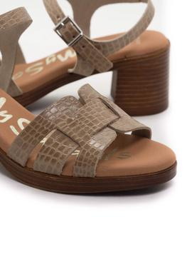 Sandalia Oh My Sandals 4846 Taupe para Mujer