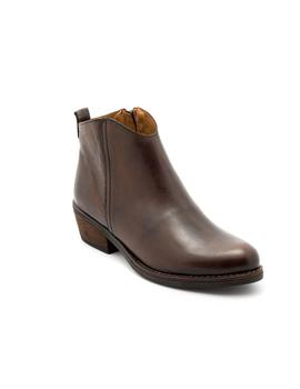 Botin Marroqui Sanchez De Piel Marron 9960