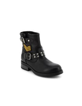 Bota Is To Me De Piel Negro 17ISTREET1P09