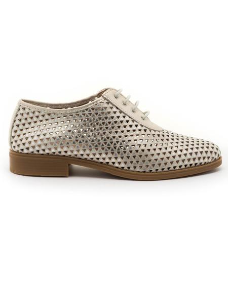 399c3e6d49f5 Zapatos Pitillos 3920 Piel Dorado para Mujer en Monchel