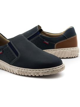 Mocasines Callaghan Mope Azules para Hombre