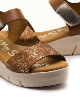 Sandalia Oh My Sandals Marrón para Mujer