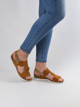 Sandalia Oh My Sandals 4390 Marrón para Mujer