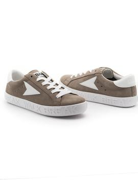 Zapatillas B-W 25001 Taupe para Mujer