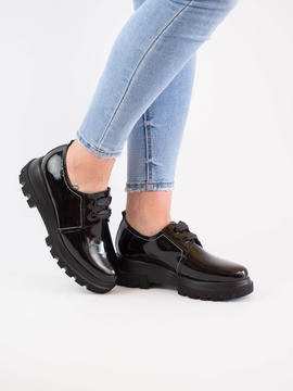 Zapato D'chicas 7006 Negro Para Mujer