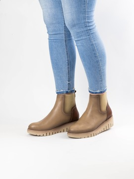 Botines D'Chicas 6332 Taupe para Mujer
