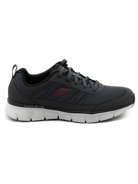 Deportivos Skechers Synergy Grises para Hombre